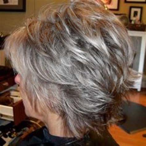 hair with shag back view twenty short gray haircuts short pixie gray hair and pixies