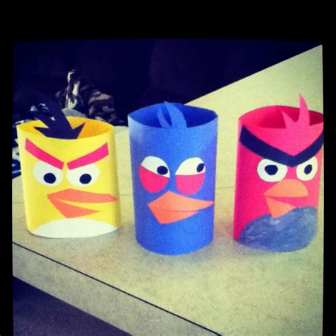 easy craft ideas with construction paper me and my toddler made angry birds out of construction