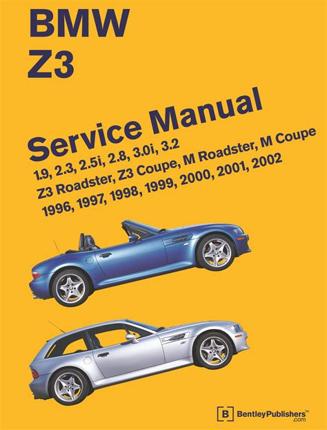 chilton car manuals free download 2001 bmw z3 transmission control front cover bmw repair manual z3 roadster z3 coupe m roadster m coupe 1996 2002 bentley