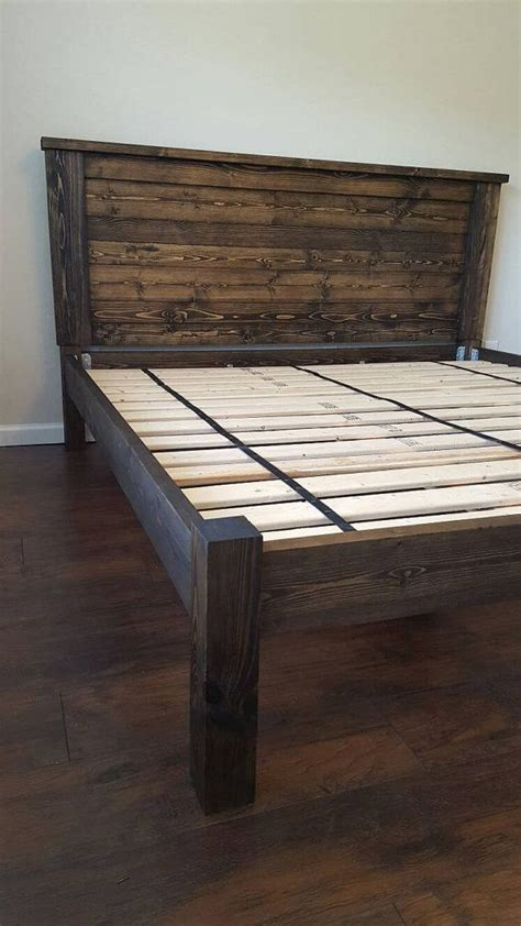 how to build a california king bed frame best 10 king bed frame ideas on diy king bed