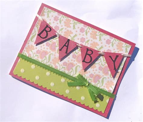 baby card ideas baby shower handmade card ideas let s celebrate