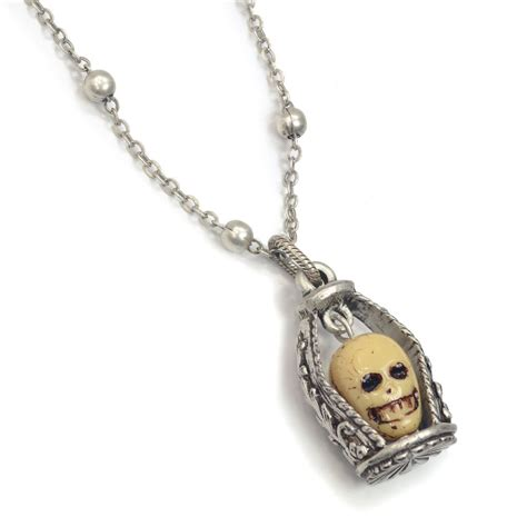 skull for jewelry dungeon skull necklace