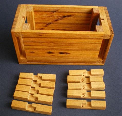 woodworking puzzle box 17 best compartments images on