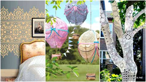 diy crafts for at home 22 charming and beautiful lace diy projects to realize at home