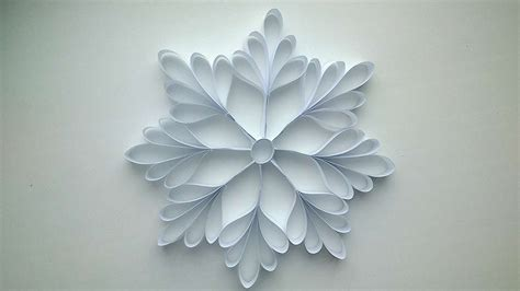 paper craft snowflakes paper snowflake crafts www pixshark images