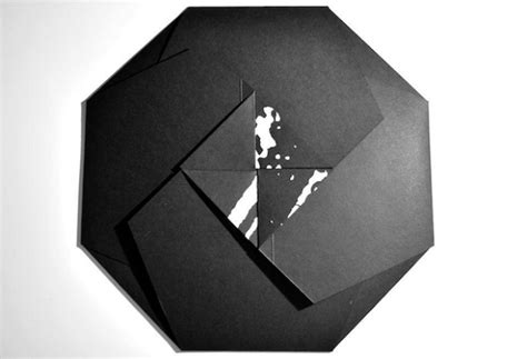 origami records check out this fold out origami record sleeve designed by