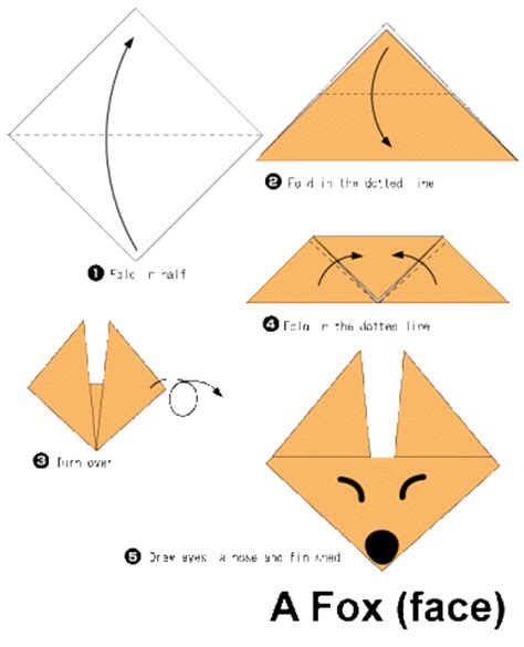 how to do origami animals step by step fox origami for 2016