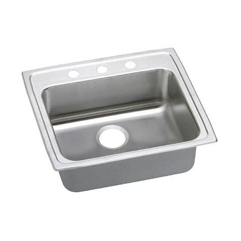 3 basin kitchen sink elkay lustertone drop in stainless steel 25 in 3