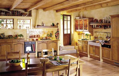 country home interior pictures country kitchens