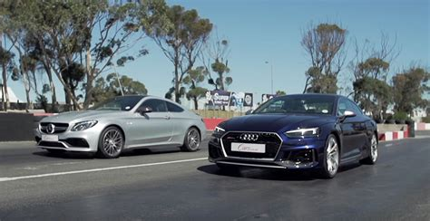 Audi Vs Mercedes by Audi Rs5 Vs Mercedes Amg C63 S Coupe Quattro Or V8
