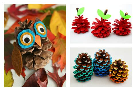 pinecone crafts for 6 adorable pinecone crafts hello fall cool picks