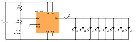 lights circuit blinking lights build electronic circuits