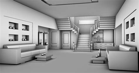 3d design interior 3d modelling home interior design in autodesk 2012