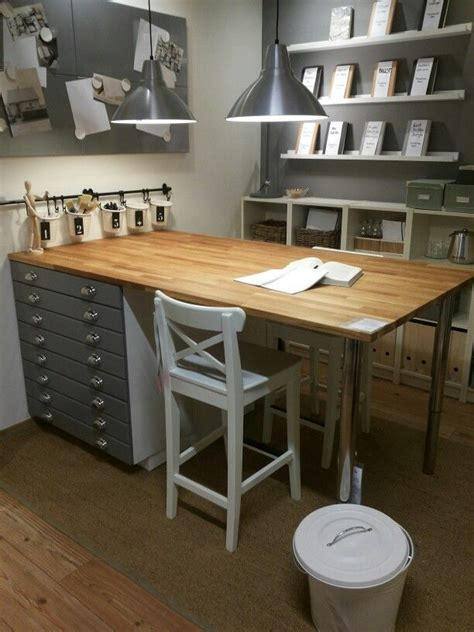 ikea craft table the 25 best ideas about ikea craft room on