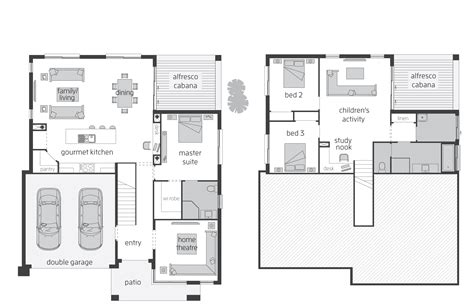 house designs and floor plans horizon act floorplans mcdonald jones homes