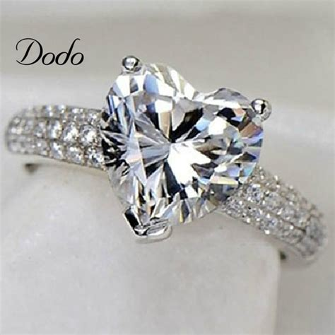 ring bands for jewelry s925 sterling silver jewelry ring cz wedding