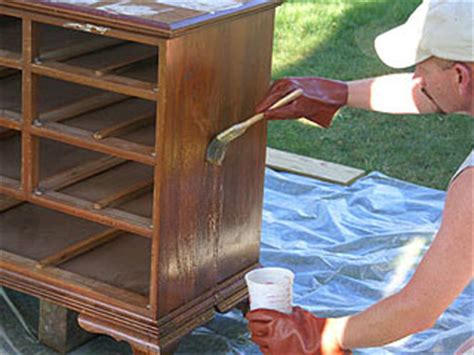 stripping woodwork refinishing furniture how to remove the original