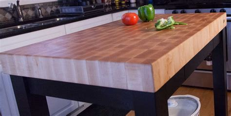 kitchen island with chopping block top home mcclure block butcher block and hardwood kitchen