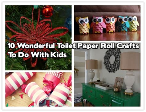 crafts to do with toilet paper rolls 10 wonderful toilet paper roll crafts to do image