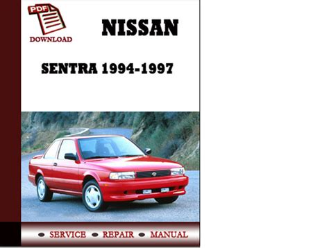 service and repair manuals 1995 nissan sentra lane departure warning downloads by tradebit com de es it