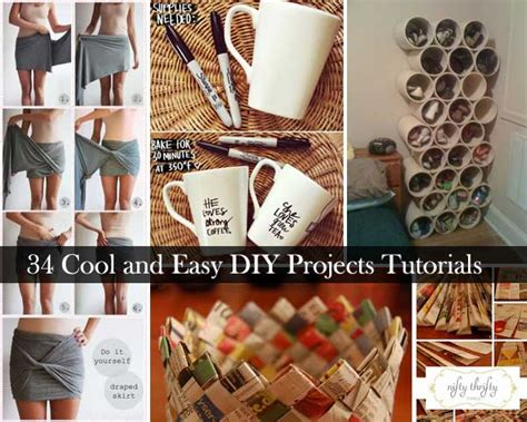 easy home craft projects 31 easy and diy projects decor advisor