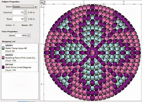 peyote stitch beading patterns imaginesque beading peyote stitch pattern 5