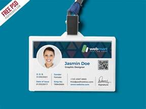 how to make id cards at home office id card design psd psdfreebies