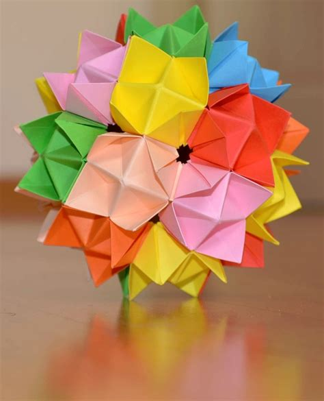 origami spike 17 best images about kusudama on spikes