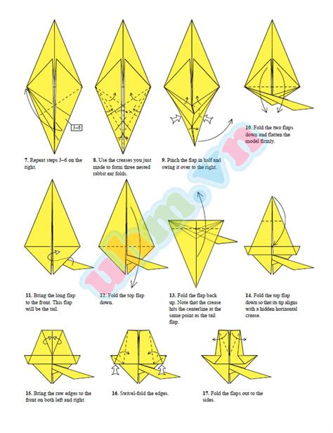 origami pickachu origami pictures to pin on pinsdaddy