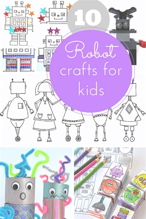 robot crafts for 10 of the best robot crafts for