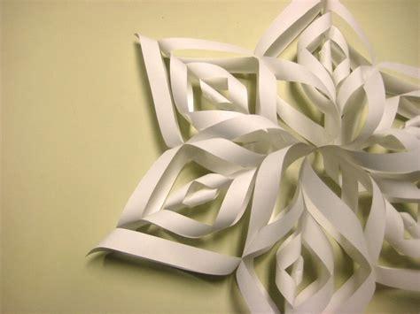 3d snowflake origami beautiful paper snowflake 183 how to make a snowflake