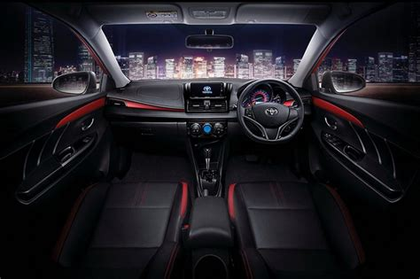 Running Head Lamps by 2017 Toyota Vios Facelift Launched In Thailand With