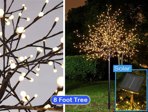 lighted trees for outside cool decorations for outside your house
