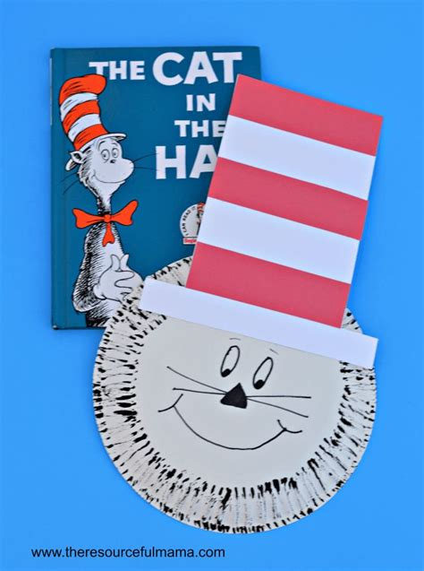 cat in the hat crafts for 267 best everything dr seuss images on diy