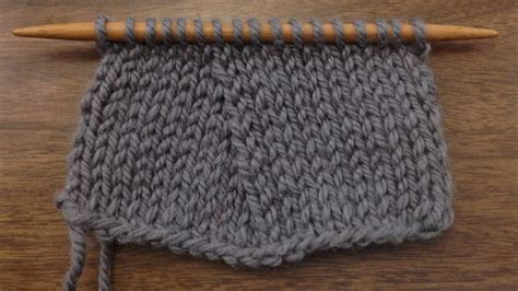 How To Knit The Slip Slip Purl Through The Back Loop Ssp