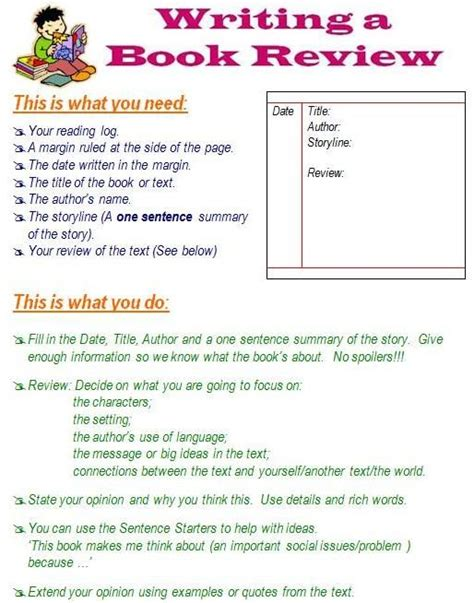 how to write a picture book for children best 25 writing a book review ideas on