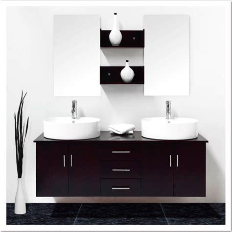 enchanteur meuble salle de bain vasque noir avec best meuble salle de bain vasque