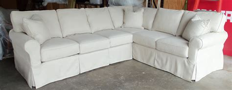 slipcovered sectional sofa contemporary sofa slipcovers sofa design