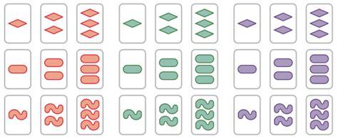 card set of set math