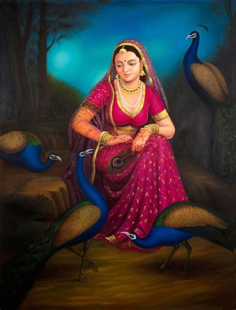 indian painting portrait of a rajasthani indian painting arts