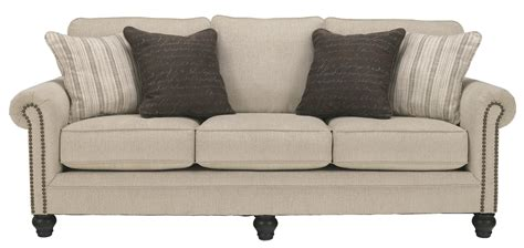 linen sleeper sofa signature design by milari linen 1300039