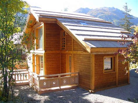 maison ossature bois chalet poteaux poutres