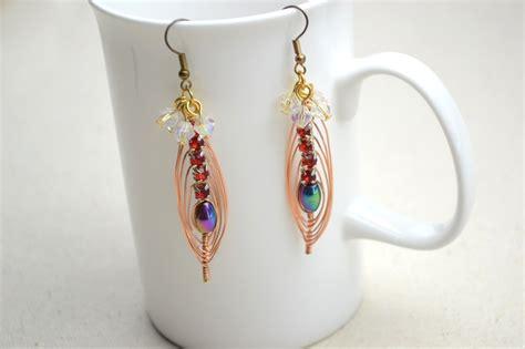 beaded earrings diy picture of cool colorful diy beaded earrings