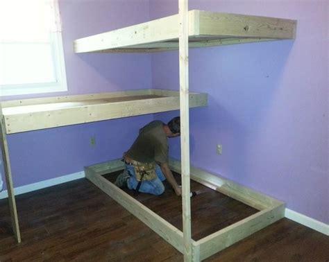 build bunk bed plans pdf woodwork bunk bed plans diy plans