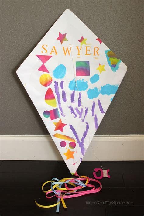 kite paper craft craft diy paper kite happiness is