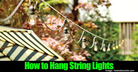 how to hang outdoor patio string lights string lights for patio just b cause