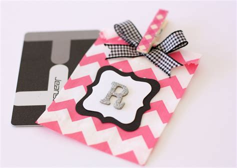 how to wrap a gift card a spoonful of sugar