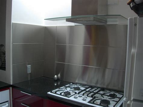 stainless steel backsplash kitchen stainless steel backsplash panel