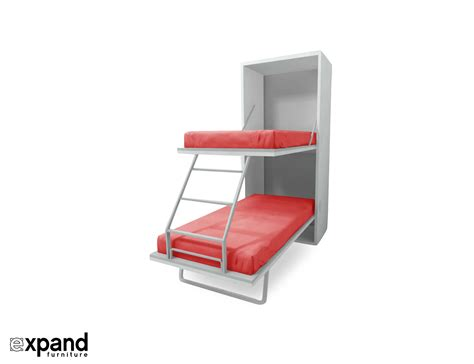 that folds into bunk beds compatto vertical murphy bunk beds expand furniture