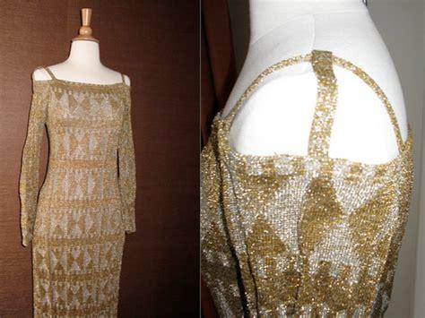 vintage beaded dresses vintage beaded wedding dress onewed